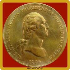 5 Total U S Mint Brass Tokens 1789 1969 1971 1931 1789 Coinhut3144