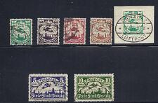 Danzig 1921-2 Airmails (Scott C4-9) Vf postally used