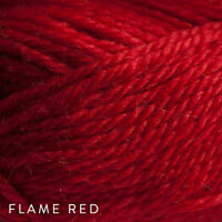 Single 50g Balls - Patons Jet 12ply Wool-Alpaca - Flame #826 - $7.25 A Bargain