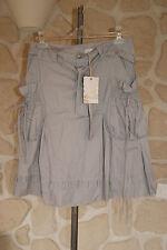 Jupe grise neuve taille M marque KY Création étiqueté à 45€