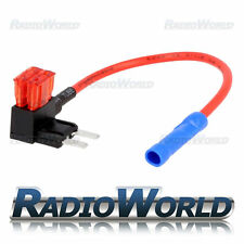 Inline 10A Mini Blade Fuse Tap Car Audio Quick Ingition Live Splice Add Circuit