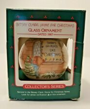 Vintage Betsey Clark Home for Christmas 1987 Keepsake Ornament Hallmark - Glass