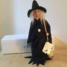 Rare Byers Choice Original 2013 Witch Of Salem - Exclusive To Bernard's Jewelers