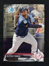 2017 Bowman Chrome Draft GLEYBER TORRES New York Yankees Prospect Card #BDC-200