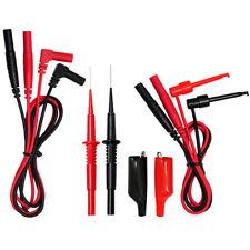 AideTek teat leads for FLUKE multimeter Stainless Steel Needle Tipped Tip T20155