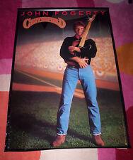 JOHN FOGERTY POSTER ~ CENTERFIELD. Orig 1985 promo. EX. Creedence C. Revival.