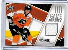 CHRIS PRONGER  2011-12 UPPER DECK UD GAME JERSEY GAME USED JERSEY