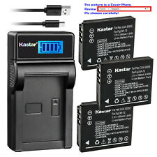 Kastar Battery LCD USB Charger for Kodak LB-080 & PIXPRO SP360 PIXPRO SP360 4K