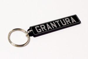 TVR Grantura Keyring - British UK Number Plate Classic Car Keytag / Keyfob