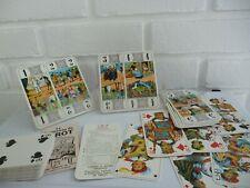 Tarot Cards Grimaud 78 Cards Marquees Aux Quatre Coins Vintage