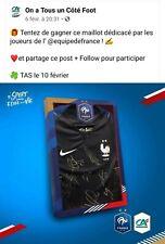 Maillot de l'équipe de France dédicacé