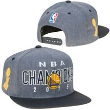 Golden State Warriors adidas 2015 NBA Champions Official Locker Room Cap Hat