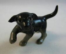 Hagen Renaker miniature Labrador Retriever Pup dog black