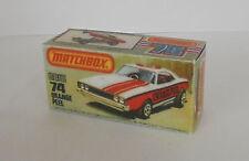 Repro Box Matchbox Superfast Nr.74 Orange Peel