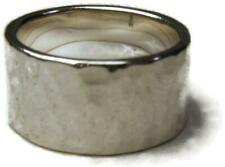 James Avery Sterling Silver Refleccion Ring 9mm Wide Band Size 6