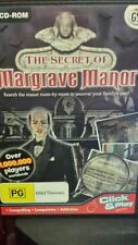 The Secret of Margrave Manor (Hidden Object) PC GAME - FREE POST *