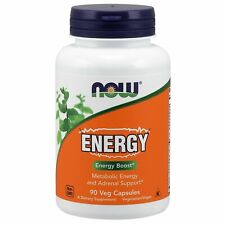 Now Foods ENERGY, 90 Veg Capsules METABOLISM & ADRENAL SUPPORT