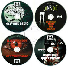 Old Time Radio HORROR Collection (OTR) ScARy gHoST sToRiES Audiobooks (mp3 CD's)