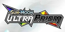 10x XY Sun & Moon: Ultra Prism Booster Code Cards - Pokemon Online PREORDER