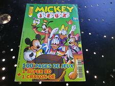 MICKEY JEUX 84 de 1998 très bon état