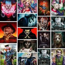 5D Full Drill Diamond Painting film characters Mosaic Embroidery Cross Stitch