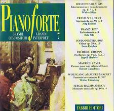 Pianoforte Nr.7 CD Fabbri Editori 1994 ( Brahms, Schubert, Liszt, Chopin,Ravel)