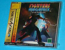 Fighters Megamix - Sega Saturn - JAP Japan New Nuovo Sealed