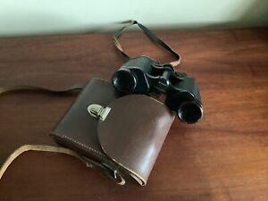carl zeiss jena binoculars 8 X 30 Jenoptem with case
