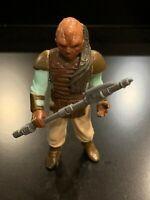 Vintage WEEQUAY Star Wars Action Figure 1983 H.K. - COMPLETE