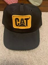 Vintage CAT Snapback Hat Made In The USA Patch