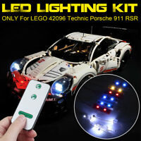 LED Luce Illuminazione Kit Per LEGO 42096 Technic Per Porsche 911 RSR Con Remote