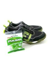 New listing FootJoy 57335 Freestyle BOA Spike Golf Shoes Waterproof Black/Green Mens Size 10