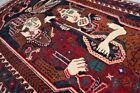 Stunning Vintage Laila Majnu Wall Hanging Rug,Museum Master Piece Home Decor Rug
