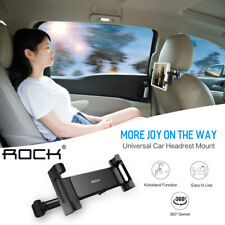 360° Universal Car Seat Headrest Mount Holder for iPad iPhone Samsung Tablet PC