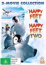 Happy Feet / Happy Feet Two : NEW 2-DVD