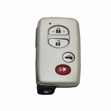 New 4B Remote Smart Prox Keyless Fob Case Housing Shell Blade Blank for Toyota