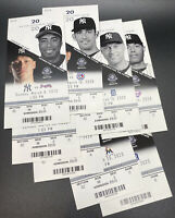 2020 Yankees Spring Training Tickets Full Set (16) with Gerrit Cole NYY Debut