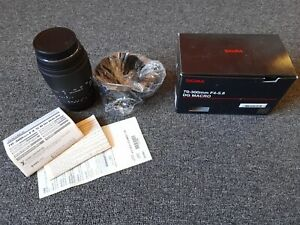 SIGMA 70-300mm F4-5.6 DG Macro Lens for Sony from Japan Brand New
