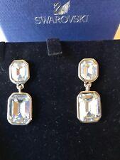 Swarovski new crystal drop earrings