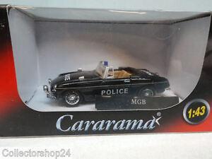 Cararama : MGB Police zwart scale 1:43 New art.No P7655