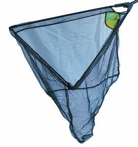 "24"" Dinsmores Folding Triangular Fishing Landing Nets with Net Bag"