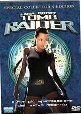 DVD 441  LARA CROFT TOMB RAIDER EDIZIONE SPECIALE DA COLLEZIONE CON 2 DVD