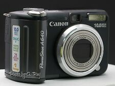 CANON PowerShot A640-Mechanically Reconditioned Digital Camera-Viewfinder-Swivel