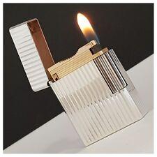 Briquet gaz *St Dupont Paris* verticales Silver.P-Lighter-Feuerzeug-Accendino