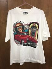 Vintage Ford Motor Company Americana LEE T-shirt Size XL 1989