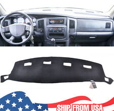 Xukey For Dodge Ram 1500 2500 3500 02-05 Dash Cover Mat Dashboard Cover Black