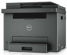 NEW ~ NO TONER ~ Dell E525W Wireless Color LASER Printer, Scanner, Copier & Fax
