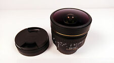 Sigma EX 8mm f/3.5 EX DG for Nikon SLR 8mm f/3.5 DG Lens pristine boxed
