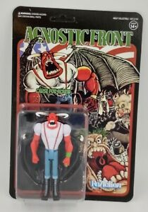 Agnostic Front Eliminator Super 7 Reaction figure Hardcore Punk NEW