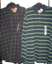 LOT OF 2 -  THE FOUNDRY SUPPLY CO MENS LONG SLEEVE  SHIRT BIG & TALL 2XLT-NEW